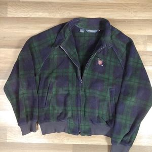 Polo Ralph Lauren Plaid Fleece Jacket XL